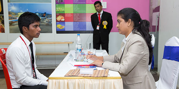 Campus Interview 7 of Hotel Management Placement